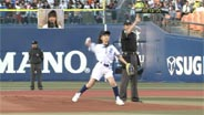 真野恵里菜 ザ・プロ野球 横浜×巨人