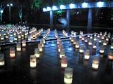 光都東京・LIGHTOPIA2007 アンビエント・キャンドルパーク